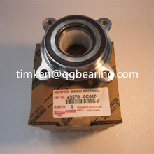 TOYOTA bearing 43570-0C010 front wheel hub bering with ABS