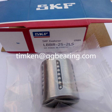 SKF bearing LBBR25-2LS linear ball bearings