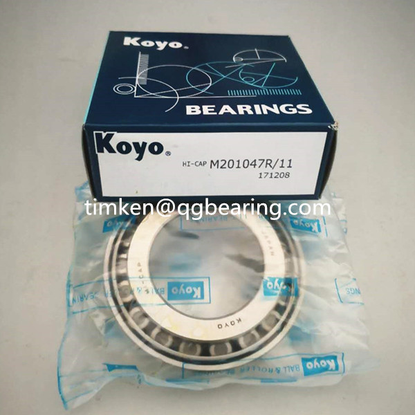 Koyo tapered roller wheel bearing M201047/M201011